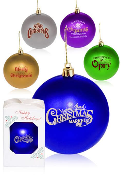 personalized  plastic holiday ornaments