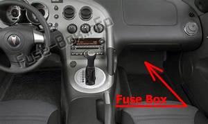 Fuse Box Diagram Pontiac Solstice  2006