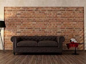 Papier Peint Trompe L Oeil Brique : le papier peint ~ Premium-room.com Idées de Décoration