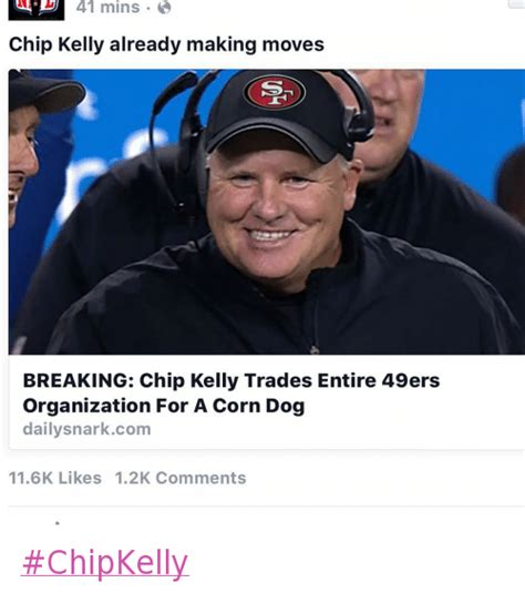 Chip Kelly Memes - 42 funny san francisco 49ers memes of 2016 on sizzle