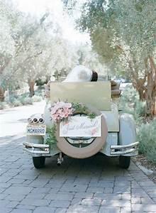 Deco Mariage Vintage : d co voiture mariage r tro classique romantique et chic ~ Farleysfitness.com Idées de Décoration