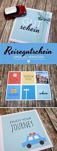 Gutschein Geschenke Verpacken : einen reisegutschein originell verpacken geschenkideen zum geburtstag ~ Watch28wear.com Haus und Dekorationen