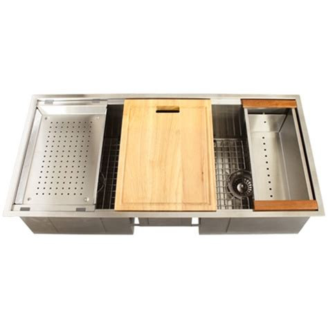 stainless kitchen accessories ticor tr1900 undermount 16 stainless steel 2464