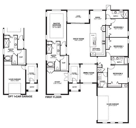 Floor Master House Plans by Versailles Sanford