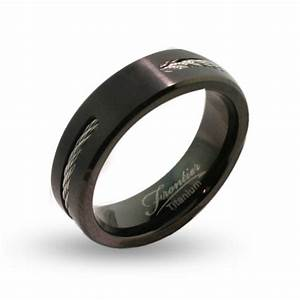 black titanium wedding bands for men fashion belief With black wedding rings for men