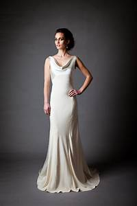 silk charmeuse open back wedding dress onewedcom With charmeuse wedding dress