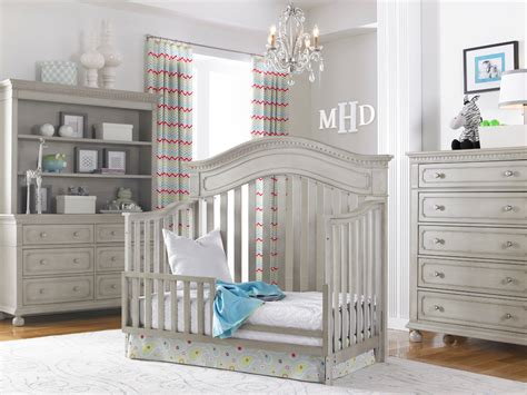 gray cribs on grey nursery furniture sets for a great decor nursery ideas 3917