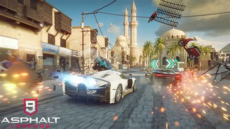legend  begun   asphalt  gameloft