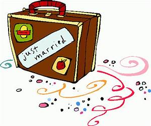 Just Married Airbrush Clipart