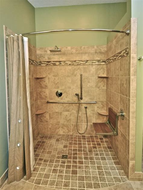 Handicapped Accessible Shower Design Ideas & Remodel