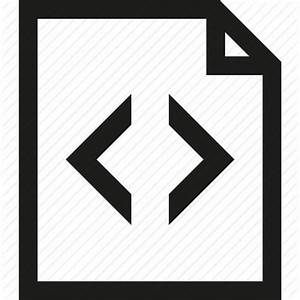 Code, document, file, html icon