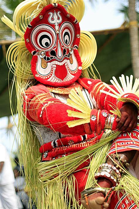 image  gulikan theyyam performance  india