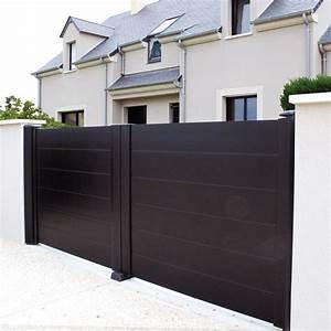 Portail En Aluminium : portail battant alu bastide portail avec motorisation ~ Melissatoandfro.com Idées de Décoration