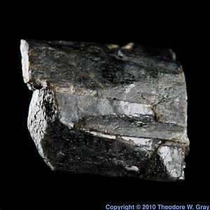 Baddeleyite  A Sample Of The Element Zirconium In The