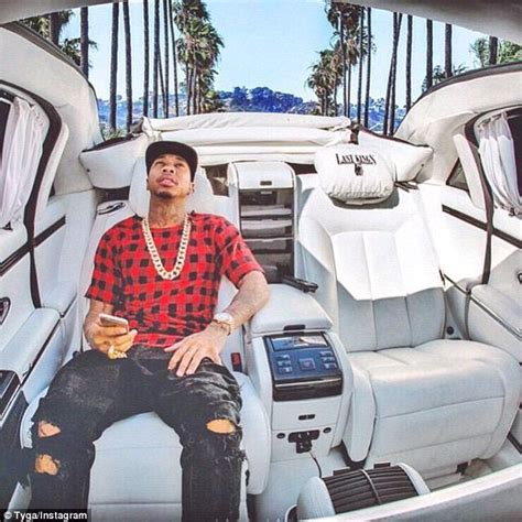 Tyga's $2.2 Million Maybach Car 'was Repossessed Earlier