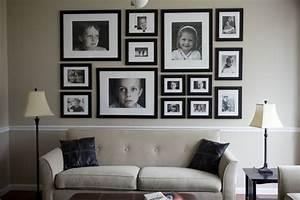 Bilder An Der Wand : bringen sie ihre familienfotos an die wand 29 originelle ~ Lizthompson.info Haus und Dekorationen