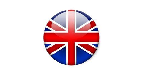 drapeau anglais 2 0 sticker rond zazzle