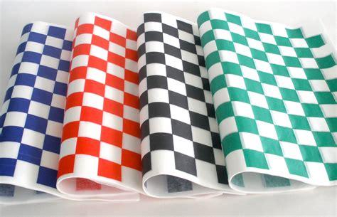 Checkered Liner 12X12 (2000/cs) Black.Red.Green.Blue ...