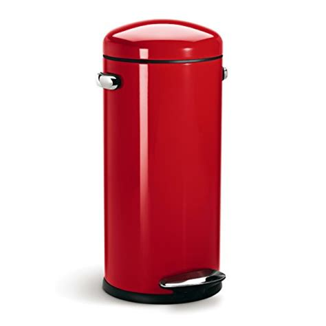 Simplehuman 30 Litre Retro Pedal Bin  Red Steel  My. Kitchen Remodel Ideas Pinterest. Kitchen Table For 2. Kitchen Furniture Breakfast Nook. Kitchen Pantry To Buy. Black Laminate Kitchen Cabinets. Mini Kitchen For Studio Apartment. Nice Kitchen Signs. Kitchen Hardware For Maple Cabinets