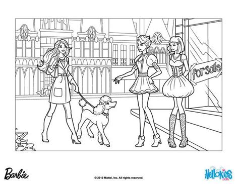 Strikingly Design Fashion Coloring Pages Printable Barbie