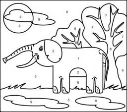 Preschool Following Directions Worksheet Elephant Coloring Page Printables Apps For