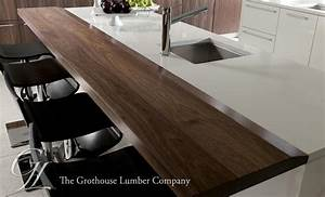 Dark Wood Countertops - Wood Countertop, Butcherblock and