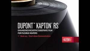 Dupont U2122 Kapton U00ae Rs Heat-up    Cool-down Demonstration