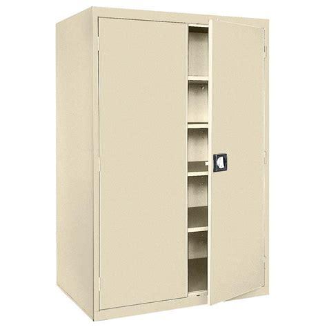 sandusky storage cabinet putty sandusky elite series 72 in h x 46 in w x 24 in d 5