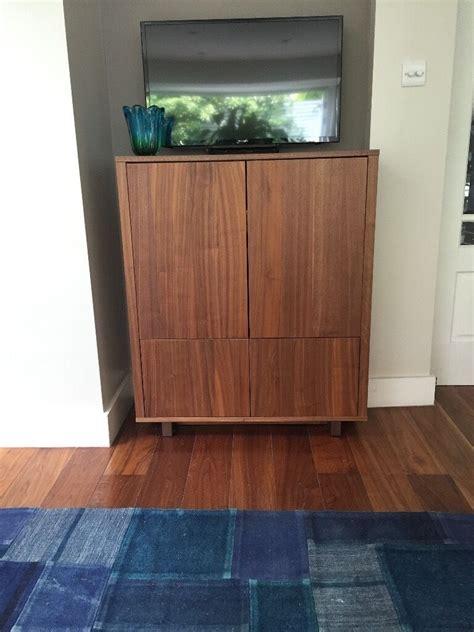 Stockholm Sideboard Walnut Veneer ikea stockholm cabinet with 2 drawers walnut veneer