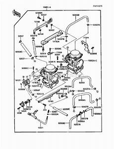 Kawasaki Ex250-f3 Parts List And Diagram