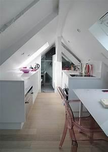 Kleine Wohnung Optimal Nutzen : kleine kuche mit schrage optimal nutzen ~ Markanthonyermac.com Haus und Dekorationen