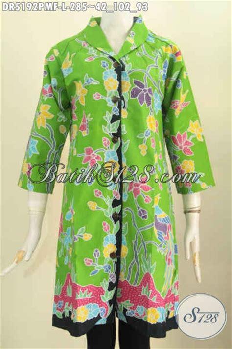 baju dress kwalitas premium warna hijau motif bunga baju