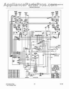 Parts For Frigidaire Plef398ccd  Wiring Diagram Parts