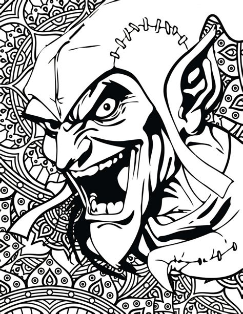 marvel villain coloring pages costume supercenter blog