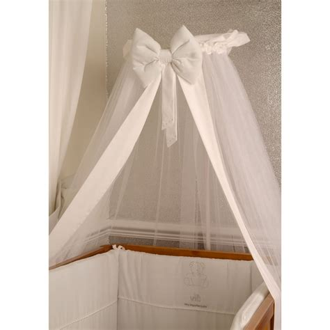 Crib Drapes - v i b swarovski elements universal coronet cot cot bed