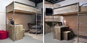 Hochbett Bauen Lassen : einfach betten selber bauen aus metall tiny houses ~ Michelbontemps.com Haus und Dekorationen