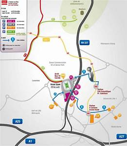 Parking 4 Cantons : plan du stade pierre mauroy lille ~ Medecine-chirurgie-esthetiques.com Avis de Voitures