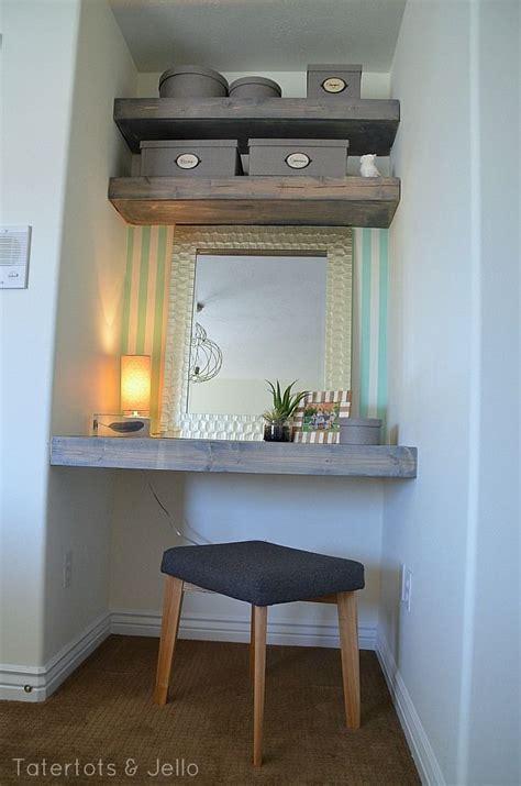 diy floating desk  shelves   bedroom diy