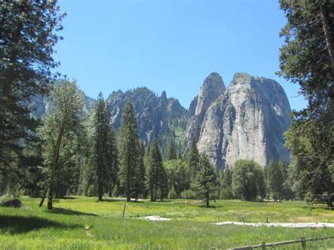 Riding Around In Yosemite Valley With Park Ranger Bild