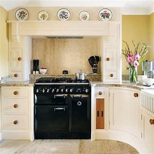 range cooker rustic country kitchen housetohomecouk With kitchen designs with range cookers