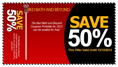 Bed Bath And Beyond Canada 50 Off Coupon