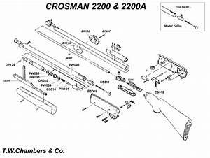 2200a Crosman - Airgun Spares