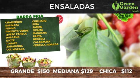 green garden menu green garden salads 250 animado
