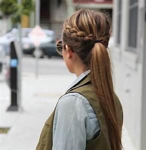 Coiffure Queue De Cheval : la queue de cheval tress e 10 coiffures rapides et ~ Melissatoandfro.com Idées de Décoration
