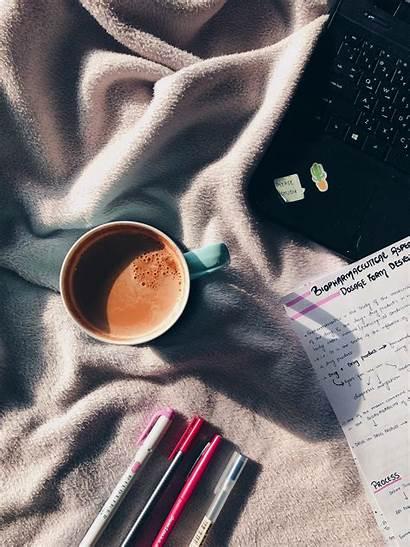 Aesthetic Coffee Studying Study Wallpapers Books Desktop