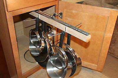 pull out hanging pot rack legalized pot rack h d pull out hanging pot and pan lid