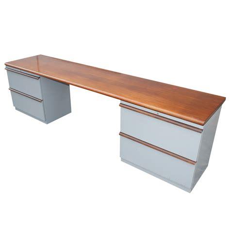 Steelcase Credenza - 1 steelcase kneehole credenza ebay