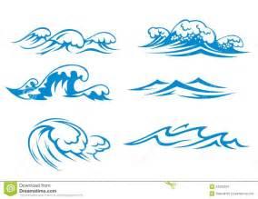Ocean Wave Silhouette Clip Art
