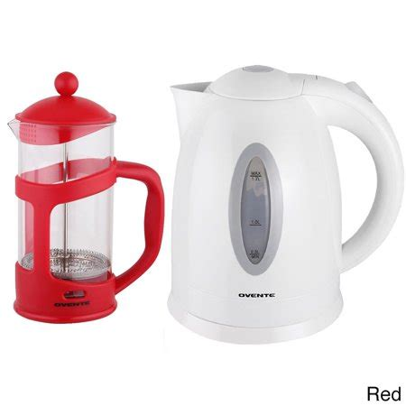 kettle electric ovente french press cordless ounce coffeemaker makers coffee