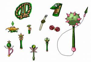 NSG Sailor Jupiter's Items by nads6969 on DeviantArt